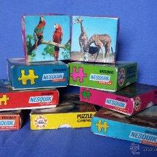 Puzzles: LOTE DE PUZLES OBSEQUIO DE NESQUIK AÑOS 70. Lote 54635709