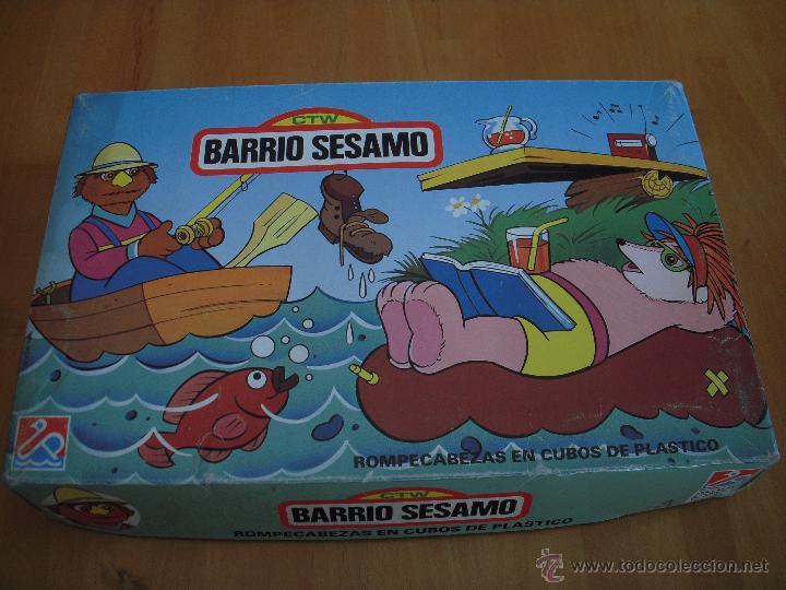 Puzzles: Rompecabezas Puzzle en cubos de plástico. Barrio Sesamo - Foto 2 - 54648111
