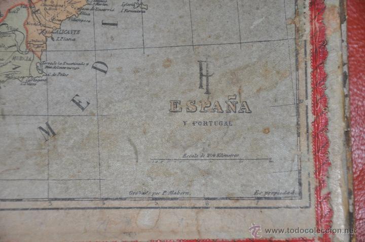 Puzzles: ROMPECABEZAS MAPA CON CUBOS , 5 LAMINAS MAS CAJA , DE 1925 APROXIMADAMENTE - Foto 10 - 54693780