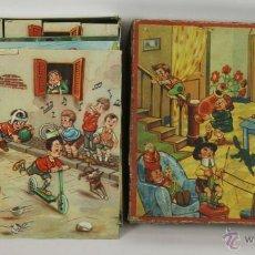 Puzzles: PUZLE INFANTIL EN CARTÓN. 6 ESCENAS. LA SANTA MARIA. AÑOS 40.. Lote 48808073