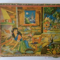 Puzzles: ANTIGUO PUZLE ROMPECABEZAS DE CUBOS DE CARTÓN. CUENTOS CLÁSICOS.. Lote 190104322