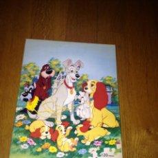 Puzzles: PUZLE LA DAMA Y EL VAGABUNDO ASSIM TOYS. Lote 55068875
