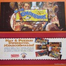 Puzzles: PUZLE - NESTLE - COLECCION PORT AVENTURA TOMAHAWK - NUNCA USADO SIN DESMONTAR. Lote 55396041