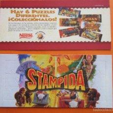 Puzzles: PUZLE - NESTLE - COLECCION PORT AVENTURA STAMPIDA - NUNCA USADO SIN DESMONTAR. Lote 55396064
