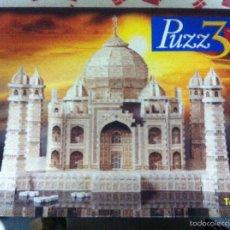 Puzzles: TAJ MAHAL. PUZZLE 3D. COMPLETO. DE MB. Lote 55571773