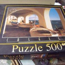 Puzzles: PUZZLE CALELLA DE BORRAS 500PIEZAS CONTADAS. Lote 56024988