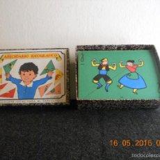 Puzzles: ANTIGUO PUZLE DE ABECEDARIO IDEOGRAFICO PARA PARVULITOS ( POR J.MARIA TORAL ). Lote 56926276