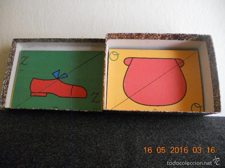 Puzzles: ANTIGUO PUZLE DE ABECEDARIO IDEOGRAFICO PARA PARVULITOS ( POR J.MARIA TORAL ) - Foto 2 - 56926276