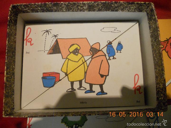Puzzles: ANTIGUO PUZLE DE ABECEDARIO IDEOGRAFICO PARA PARVULITOS ( POR J.MARIA TORAL ) - Foto 4 - 56926276