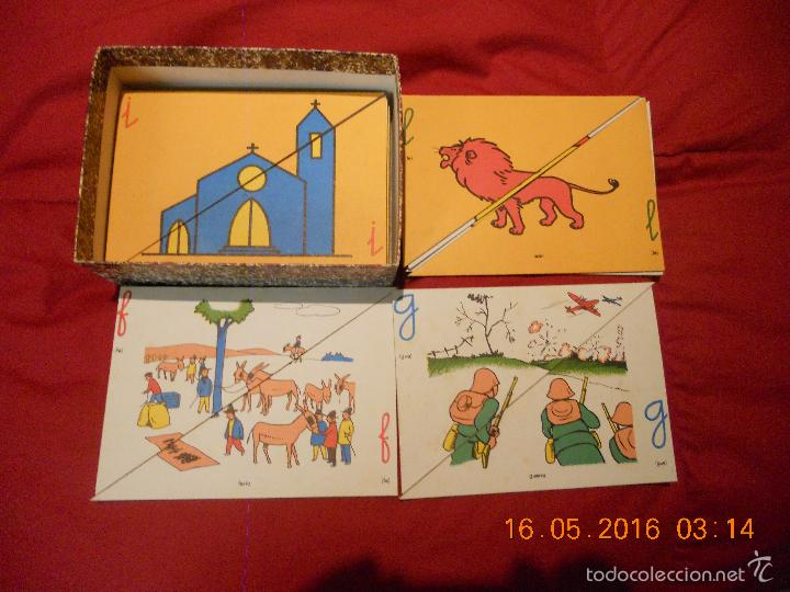 Puzzles: ANTIGUO PUZLE DE ABECEDARIO IDEOGRAFICO PARA PARVULITOS ( POR J.MARIA TORAL ) - Foto 5 - 56926276