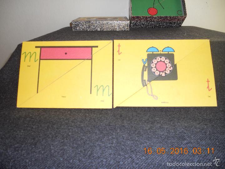 Puzzles: ANTIGUO PUZLE DE ABECEDARIO IDEOGRAFICO PARA PARVULITOS ( POR J.MARIA TORAL ) - Foto 8 - 56926276
