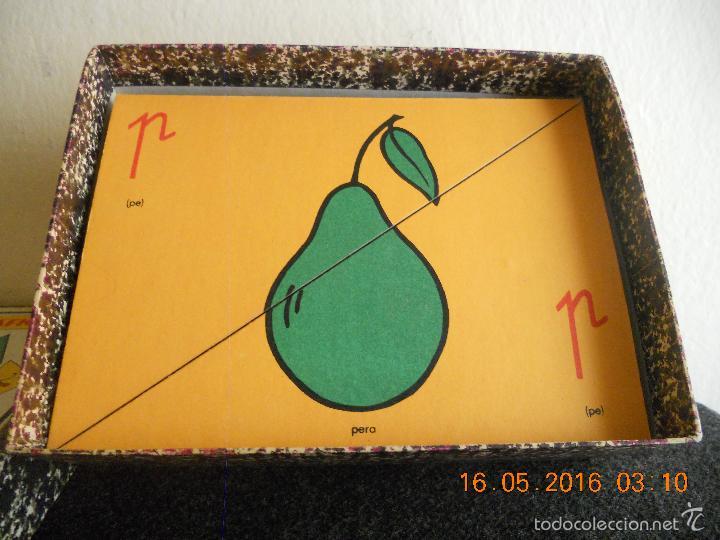 Puzzles: ANTIGUO PUZLE DE ABECEDARIO IDEOGRAFICO PARA PARVULITOS ( POR J.MARIA TORAL ) - Foto 9 - 56926276