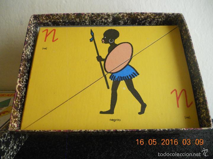 Puzzles: ANTIGUO PUZLE DE ABECEDARIO IDEOGRAFICO PARA PARVULITOS ( POR J.MARIA TORAL ) - Foto 10 - 56926276