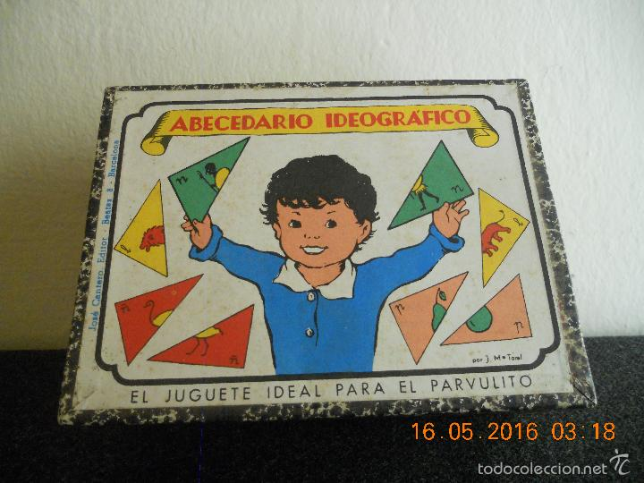 Puzzles: ANTIGUO PUZLE DE ABECEDARIO IDEOGRAFICO PARA PARVULITOS ( POR J.MARIA TORAL ) - Foto 14 - 56926276