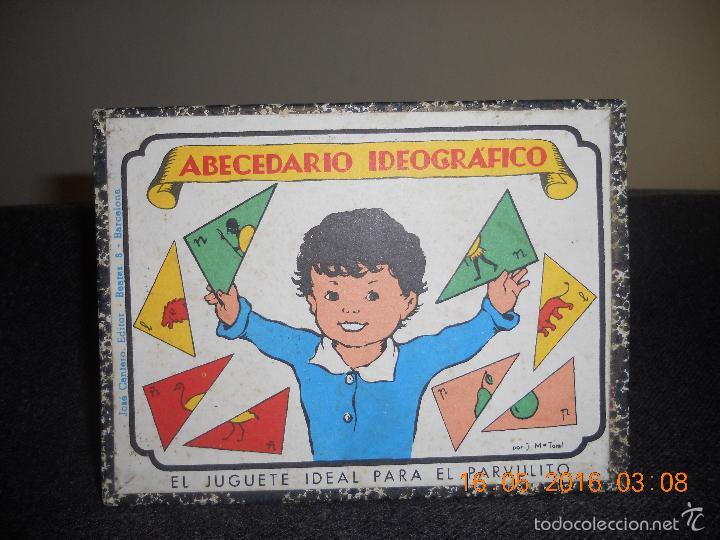 Puzzles: ANTIGUO PUZLE DE ABECEDARIO IDEOGRAFICO PARA PARVULITOS ( POR J.MARIA TORAL ) - Foto 15 - 56926276