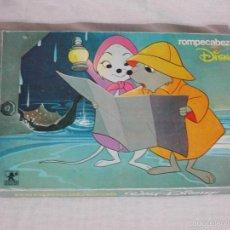 Puzzles: BORRAS ANTIGUO ROMPECABEZAS / PUZZLE DE WALT DISNEY -- AÑOS 60/70 +++ 40 CUBOS +++. Lote 57036900