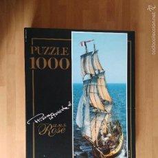 Puzzles: PUZZLE 1000 PIEZAS. EDUCA 96 X 34 CM. H.M.S. ROSE. PHILIP PLISSON. SIN USO. . Lote 57329146