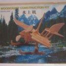 Puzzles: WOODCRAFT CONSTRUCTION KIT, SEAPLANE. CC. Lote 57842647