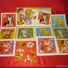 Puzzles: ROMPECABEZAS INFANTIL COMPLETO. Lote 58140060