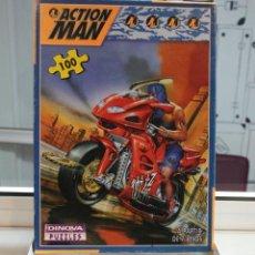 Puzzles: HASBRO 1999. PUZZLE 100 PIEZAS ACTION MAN. DINOVA. ORIGINAL, EN SU CAJA.. Lote 58344462