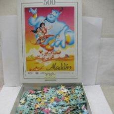Puzzles: PUZZLE DISNEY DE ALADÍN 500 PIEZAS. Lote 58419286