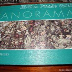 Puzzles: PUZLE 1000 PIEZAS PANORAMA ANNE GEDDES. Lote 59154450