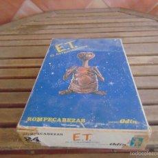 Puzzles: PUZLE DE CUBOS DE CARTON DE ET E T EL EXTRATERESTRE DE ODIN. Lote 59781144