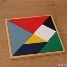 Puzzles: TANGRAM DE MADERA. Lote 60097183