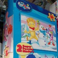 Puzzles: PUZZLES LOS LUNNIS. Lote 60635187