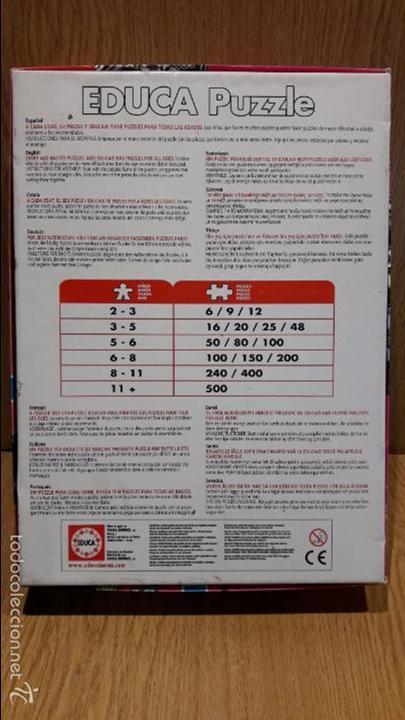 Puzzles: PUZZLE GIGANTE. MONSTER HIGH - EDUCA. 400 PIEZAS. 136 X 48 CM. COMPLETO / COMO NUEVO. - Foto 4 - 60799791