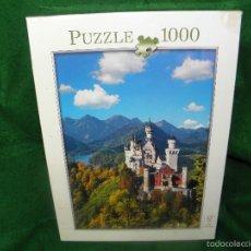 Puzzles: PUZLE 1000 PIEZAS CASTILLO DE NEUSCHWANSTEIN - PRECINTADO. Lote 61351229