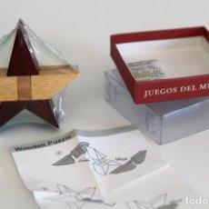 Puzzles: WOODEN PUZZLE. JUEGOS DEL MUNDO. Lote 62263296
