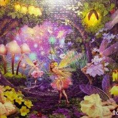 Puzzles: PUZZLE ENMARCADO HADAS. Lote 63429124