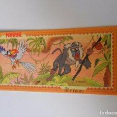 Puzzles: CARTON PUZZLE NESTLE EL REY LEON DISNEY. TDKP8. Lote 63552620
