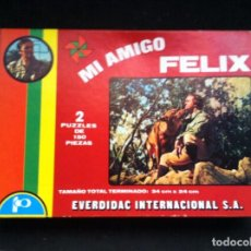 Puzzles: ANTIGUO PUZZLE, MI AMIGO FELIX. COMPLETO. DE EVERDIDAC INTERNACIONAL. REF. 90104. Lote 64152723