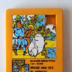 Puzzles: PUZZLE LABERINTO DE ÉRASE UNA VEZ EL ESPACIO.. Lote 135079730