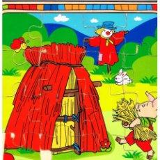Puzzles: PUZZLE DE MADERA 16 PIEZAS MEDIDAS 25 CM X 25 CM MD295. Lote 64808471