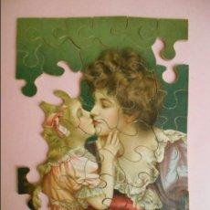 Puzzles: CONJUNTO DE TRES PUZZLES S-XIX. Lote 65884486