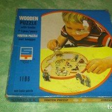 Puzzles: ANTIGUO PUZZLE DE MADERA PARA NIÑOS DE 2 A 6 AÑOS.SIMPLEX TOYS AÑOS 70. Lote 66796446