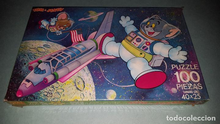 ANTIGUO PUZZLE DE TOM Y JERRY- DE JUGUETES PIQUE (Juguetes - Juegos - Puzles)