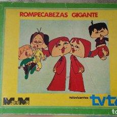 Puzzles: ROMPECABEZAS GIGANTE TELEVICENTES MAXIMS. Lote 68306381