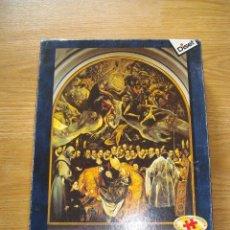 Puzzles: DESCATALOGADO - PUZZLE DISET 2000 PIEZAS EL ENTIERRO DEL CONDE DE ORGAZ - NUEVO. Lote 68455213