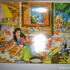 Puzzles: 10 LAMINAS DE PAPEL DIBUJOS INFANTILES PARA PUZZLES DE DADOS AÑOS 30/50 RESTOS DE FABRICA. Lote 68474069