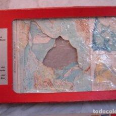 Puzzles: 6 PUZZLES CARTOGRAFICOS.ESPAÑA.AFRICA.EUROPA .AMERICA.EDITORIAL TEIDE. Lote 69685437