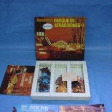 Puzzles: 4 PUZZLE PARQUE DE ATRACCIONES-1 DE PAPIROTS. Lote 282958258