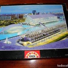 Puzzles: PUZLE 1000 PIEZAS EDUCA COMPLETO CIUDAD DE LAS ARTES Y LAS CIENCIAS DE VALENCIA. Lote 71674923