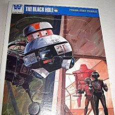 Puzzles: ANTIGUO PUZZLE FRAME TRAY PUZZLE THE BLACK HOLE. COLECCIÓN WHITMAN. 1979. USA. ESTADOS UNIDOS.. Lote 72861179