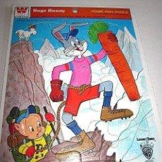 Puzzles: ANTIGUO PUZZLE FRAME TRAY PUZZLE BUGS BUNNY. COLECCIÓN WHITMAN. 1979. USA. ESTADOS UNIDOS.. Lote 72864027