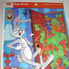 Puzzles: ANTIGUO PUZZLE FRAME TRAY PUZZLE BUGS BUNNY. COLECCIÓN WHITMAN. 1978. USA. ESTADOS UNIDOS. Lote 72864739