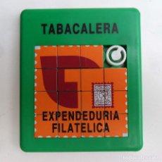 Puzzles: TABACALERA EXPENDEDURIA FILATELICA PUZZLE AÑOS 80. Lote 72886539